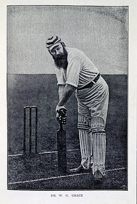 Wg Photograph - Dr. W.g. Grace by British Library