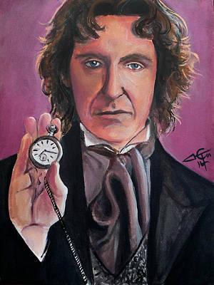 Dr Who # 8 - Paul Mcgann Original by Tom Carlton