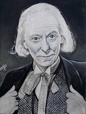 Dr Who #1 - William Hartnel  Original by Tom Carlton