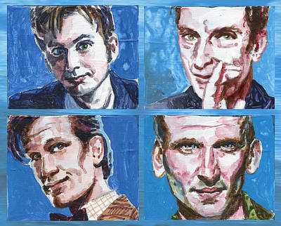 Dr. Who Wall Art - Painting - Dr. Who by Ken Meyer