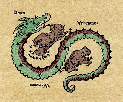 Draco, 1482 Art Print by Granger