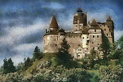Dracula Castle Romania Art Print by Georgi Dimitrov
