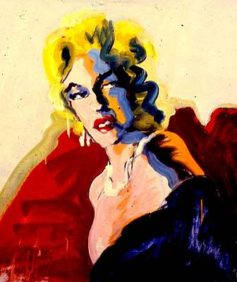 Painting - Drag Marilyn by Les Leffingwell