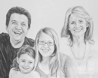 Painting - Dragojlovic Family by Tamir Barkan