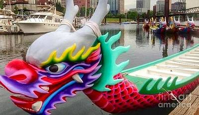 Photograph - Dragon Boat Lair  by Susan Garren