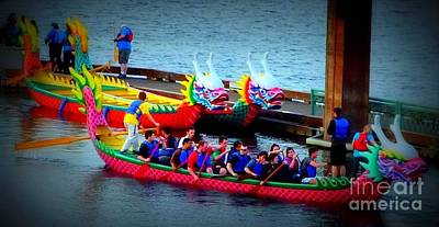 Photograph - Dragon Boat by Susan Garren