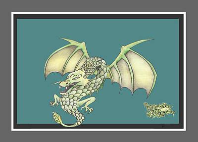 Dragon Cartoon Original
