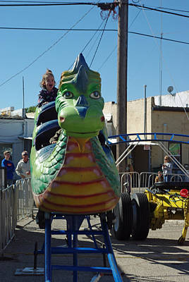 Photograph - Dragon Coasting by Robyn Stacey