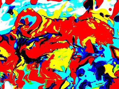 Painting - Dragon Dancers by Sharon Jones