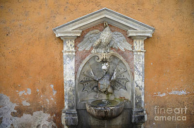 Photograph - Dragon Fountain by Brenda Kean