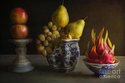 Dragon Fruit Art Print by Elena Nosyreva