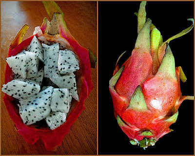 Photograph - Dragon Fruit by Tikvah's Hope