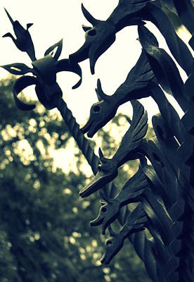 Photograph - Dragon Gate by Laurie Perry