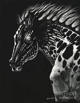 Dragon Horse Art Print by Stanley Morrison
