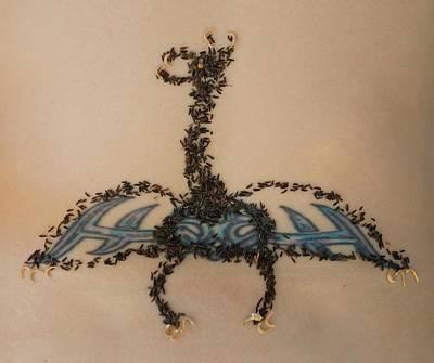 Dragon Art Print by Jon Simmons