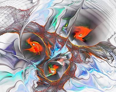 Mystic Digital Art - Dragon Nest by Anastasiya Malakhova