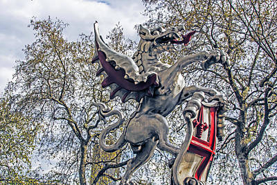 Photograph - Dragon Of Temple Bar by Elvis Vaughn
