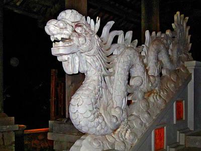 Dragon. Phu Quoc. Vietnam.  Original by Andy Za