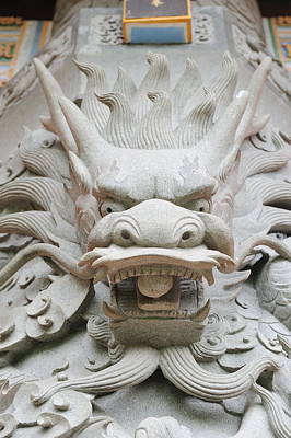 Target Threshold Photography - Dragon statue by Songquan Deng