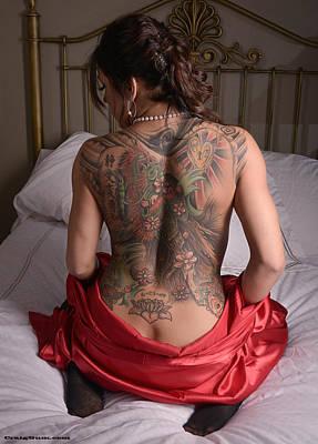Photograph - Dragon Tattoo by Craig Gum