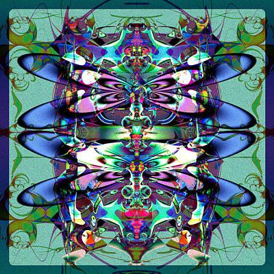 Digital Art - Dragonflies by Kiki Art