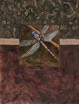 Mixed Media - Dragonfly by Darice Machel McGuire