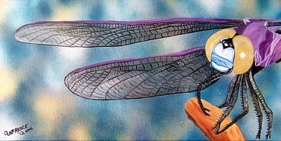 Firefighter Patents - Dragonfly by Debbie LaFrance