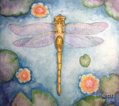 Dragonfly Dream Art Print by Kym Stine