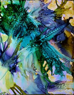 Painting - Dragonfly Dreamin by Marcia Breznay
