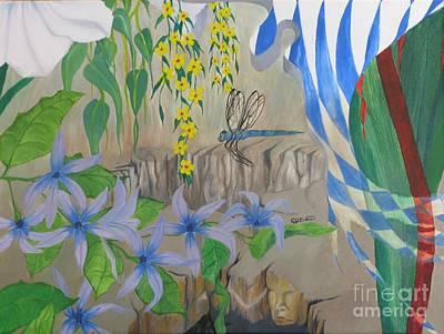 Dragonfly Dreams Art Print by Richard Dotson