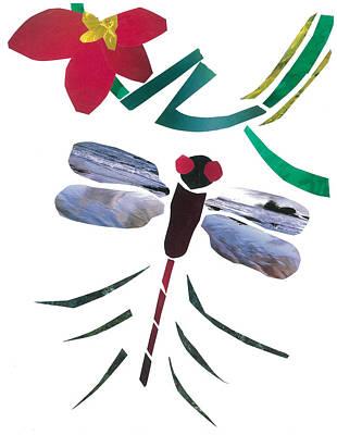 Dragonfly Art Print by Earl ContehMorgan