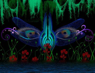 Dragonfly Eyes Series 6 Final Art Print