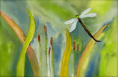 Dragonfly Fantasy Flight Art Print