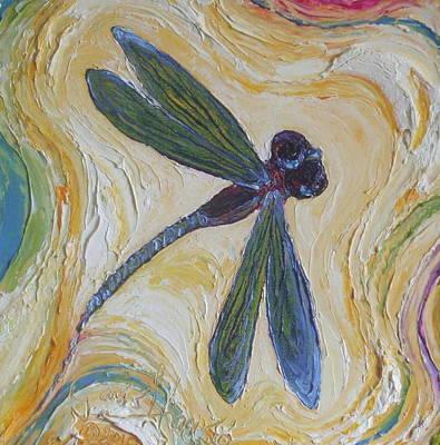 Dragonfly II Art Print by Paris Wyatt Llanso
