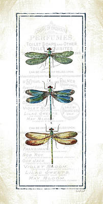 Dragonflies Painting - Dragonfly by Jennifer Pugh