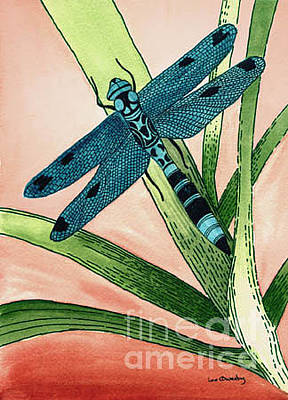 Painting - Dragonfly by Lee Owenby