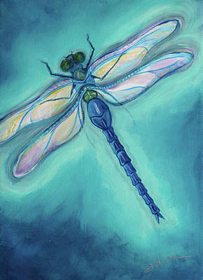 Painting - Dragonfly by Sabina Espinet