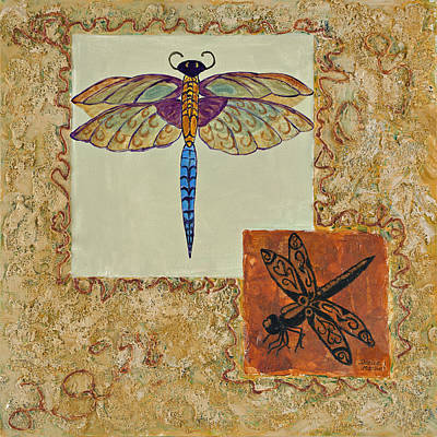 Painting - Dragonfly Two by Darice Machel McGuire