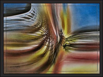 Pastel - Dragonflyscape2 '09  by Glenn Bautista