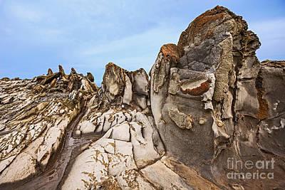 Ledge Photograph - Dragon's Teeth Rocks by Jamie Pham