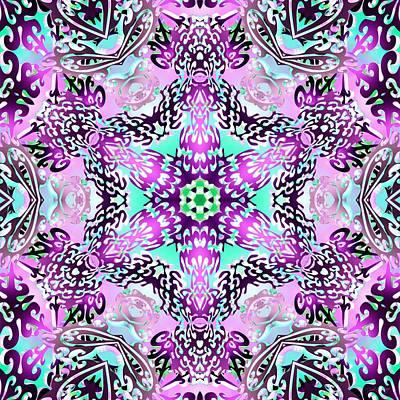 Digital Art - Dragonstar by Derek Gedney