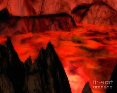 Painting - Dragontooth Pass by Pet Serrano