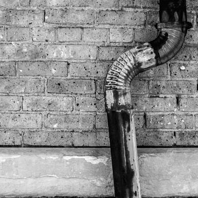 Photograph - Drain Pipe I by Roger Passman