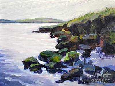 Salt Air Painting - Drakes Island by Sylvina Rollins