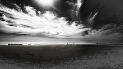 Art Print featuring the photograph Drama Clouds by Joseph Hollingsworth