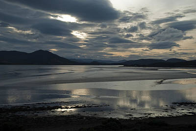 Art Print featuring the photograph Drama Dornoch Firth by Sally Ross
