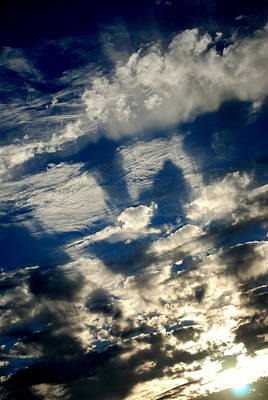 Photograph - Drama Sunset Clouds II by Kathy Sampson