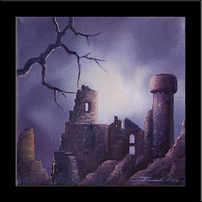Dramar Castle Print by James Christopher Hill