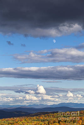 Photograph - Dramatic Autumn Cloudscape by Alan L Graham