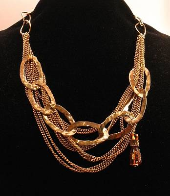 Jewelry - Dramatic Chain Link Necklace by Outre Art  Natalie Eisen